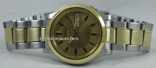 Seiko 5 Automatic 21 Jewels SNK792 SNK792K1 SNK792K Men's Watch - Click Image to Close