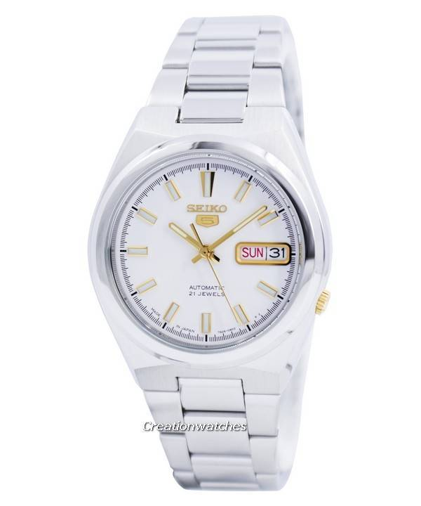 Seiko 5 Automatic 21 Jewels Japan Made SNKC47 SNKC47J1 SNKC47J Men's Watch - Click Image to Close
