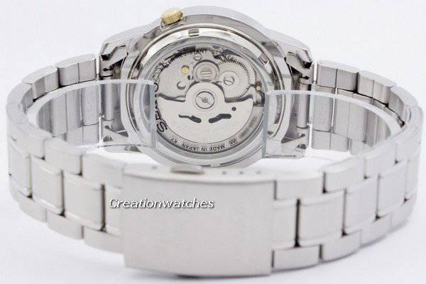 Seiko 5 Automatic 21 Jewels Japan Made SNKK15 SNKK15J1 SNKK15J Men's Watch - Click Image to Close