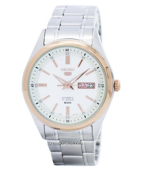 Seiko 5 Automatic 21 Jewels SNKN90 SNKN90K1 SNKN90K Men's Watch - Click Image to Close
