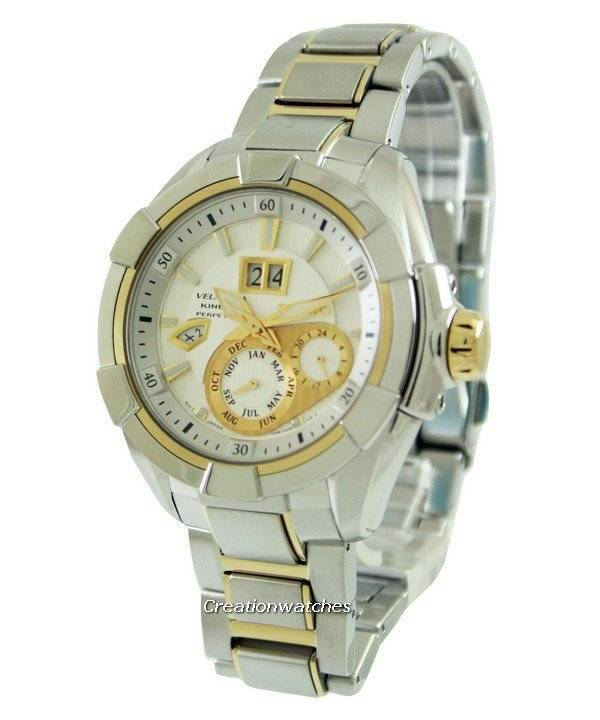 Seiko Velatura Kinetic Perpetual SNP100P1 SNP100P SNP100 Men's Watch - Click Image to Close