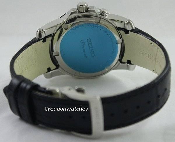Seiko Premier Perpetual Calendar SNQ143P1 SNQ143P Men's Watch - Click Image to Close