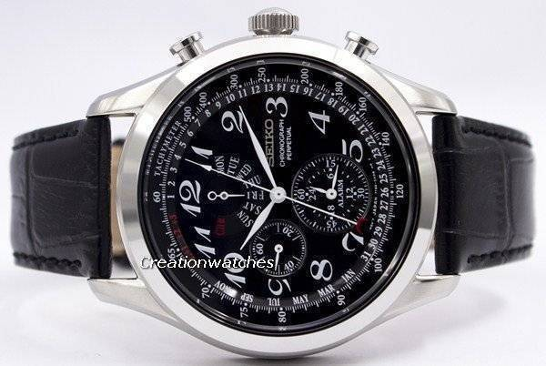 Seiko Chronograph Perpetual SPC133 SPC133P1 SPC133P Men's Watch - Click Image to Close