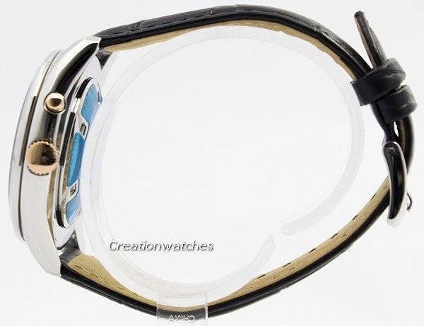 Seiko Kinetic Leather Strap SRN073 SRN073P1 SRN073P Men's Watch - Click Image to Close