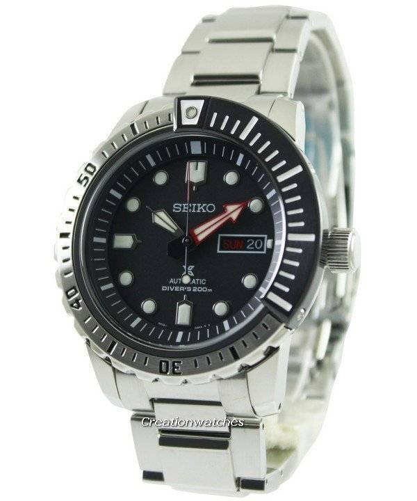 image of seiko prospex automatic air diver 39 s srp587 srp587k1 srp587k men 39 s watch. Black Bedroom Furniture Sets. Home Design Ideas