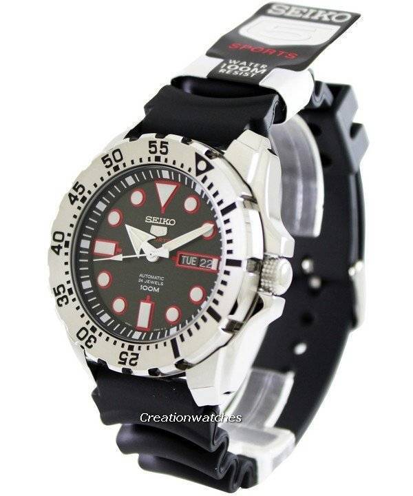 Seiko 5 Sports Automatic SRP601 SRP601K1 SRP601K Men's Watch - Click Image to Close