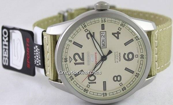 Seiko 5 Sports Automatic SRP635 SRP635K1 SRP635K Men's Watch - Click Image to Close