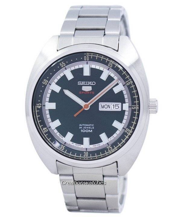 Seiko 5 Sports Automatic Japan Made SRPB13 SRPB13J1 SRPB13J Men's Watch - Click Image to Close