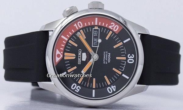 Seiko 5 Sports Automatic Japan Made SRPB31 SRPB31J1 SRPB31J Men's Watch - Click Image to Close