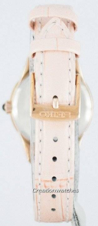 Seiko Quartz Swarovski Crystals SRZ388 SRZ388P1 SRZ388P Women's Watch - Click Image to Close