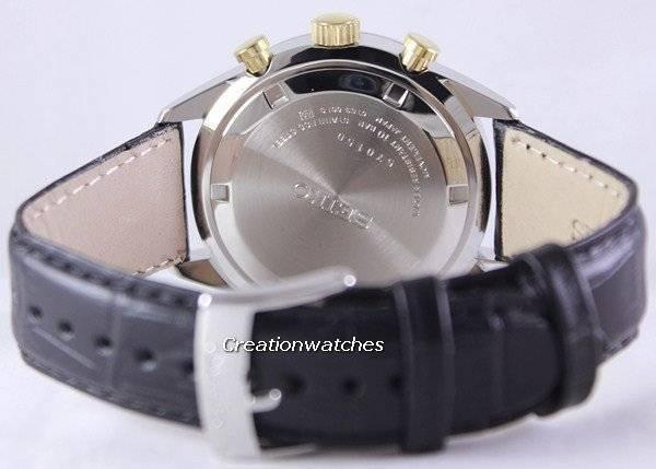 Seiko Chronograph Quartz 100M SSB071P1 SSB071P Men's Watch - Click Image to Close