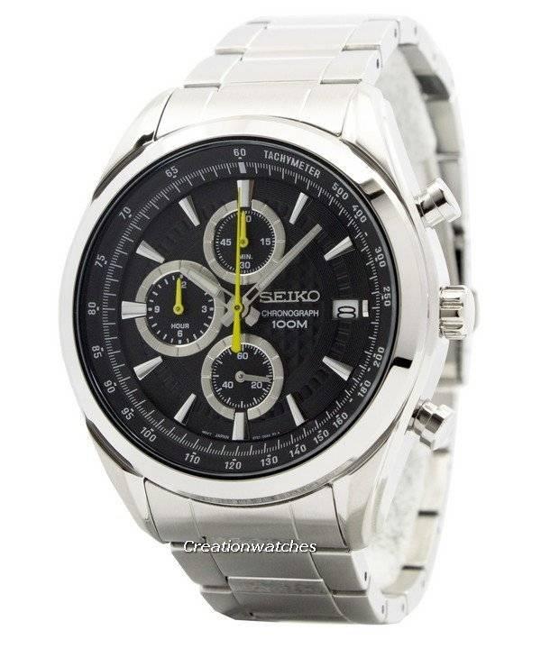 Seiko Quartz Chronograph SSB175 SSB175P1 SSB175P Men's Watch - Click Image to Close