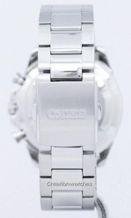 Seiko Chronograph Quartz Tachymeter SSB261 SSB261P1 SSB261P Men's Watch - Click Image to Close