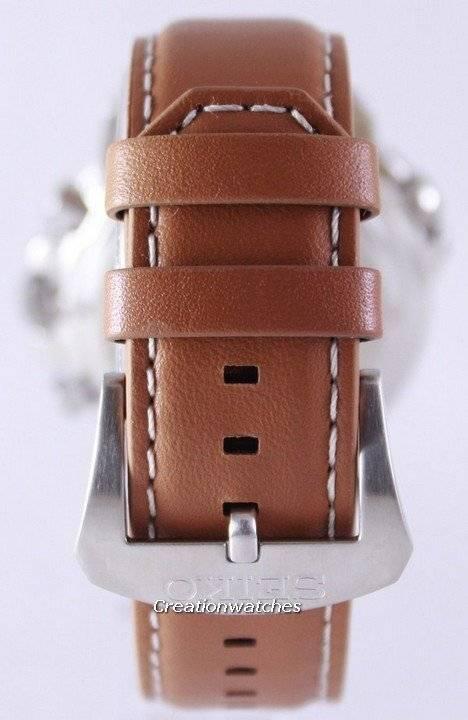 Seiko Solar Alarm Chronograph SSC081 SSC081P1 SSC081P Men's Watch - Click Image to Close