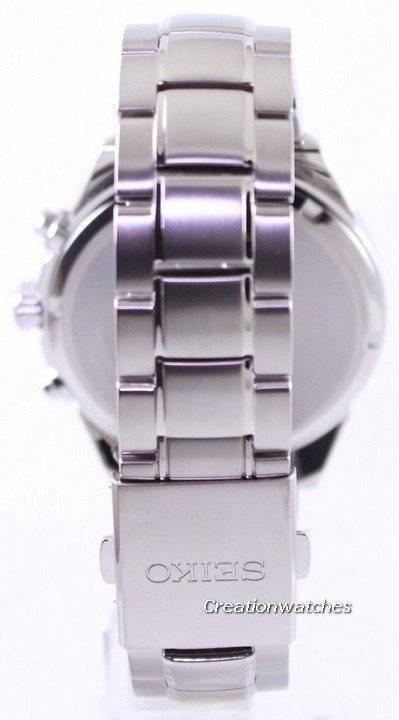 Seiko Solar Titanium Chronograph SSC363 SSC363P1 SSC363P Men's Watch - Click Image to Close