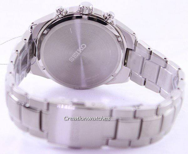 Seiko Solar Titanium Chronograph SSC367 SSC367P1 SSC367P Men's Watch - Click Image to Close