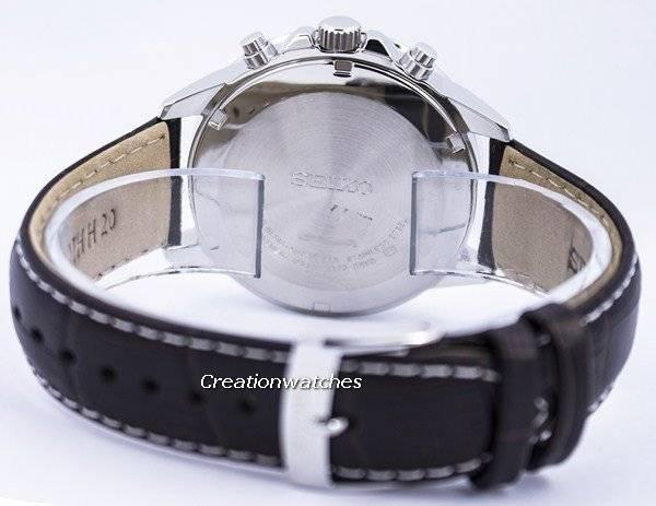 Seiko Solar Alarm Chronograph SSC501 SSC501P1 SSC501P Men's Watch - Click Image to Close