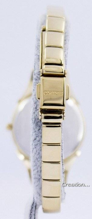 Seiko Core Solar Swarovski Crystals SUP216 SUP216P1 SUP216P Women's Watch - Click Image to Close