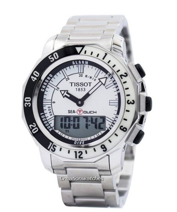 tissot sea touch menu0027s watch