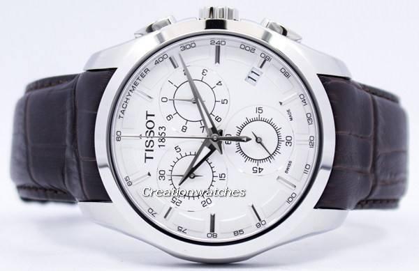 Tissot Couturier Quartz Chronograph T035.617.16.031.00 T0356171603100 Men's Watch - Click Image to Close