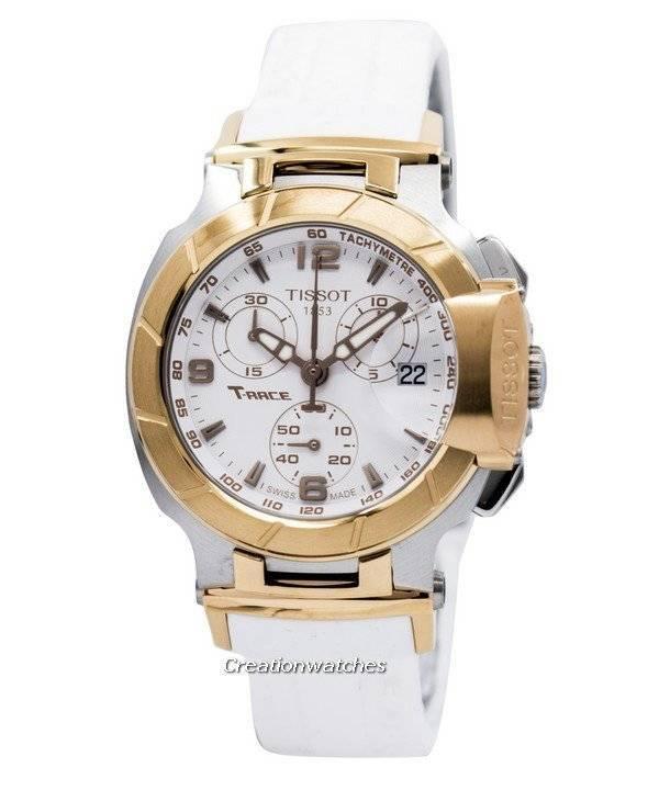 Tissot T-Race Chronograph T048.217.27.017.00 T0482172701700 Women's Watch - Click Image to Close