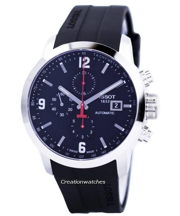 Tissot T-Sport PRC 200 Automatic Chronograph T055.427.17.057.00 T0554271705700 Men's Watch - Click Image to Close