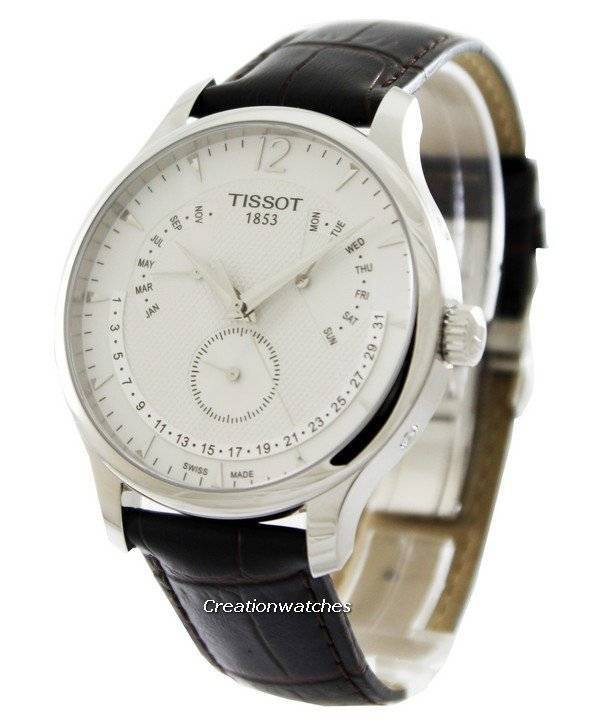 t classic tradition perpetual calendar t063 637 16 037 00 tissot t classic tradition perpetual calendar t063 637 16 037 00 t0636371603700 men s watch