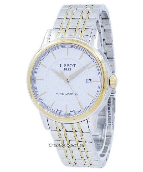 Tissot T-Classic Carson Powermatic 80 T085.407.22.011.00 T0854072201100 Men's Watch - Click Image to Close