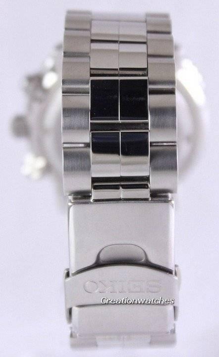 Refurbished Seiko Flight Alarm Chronograph Pilot's SNA413P1 SNA413P Men's Watch - Click Image to Close