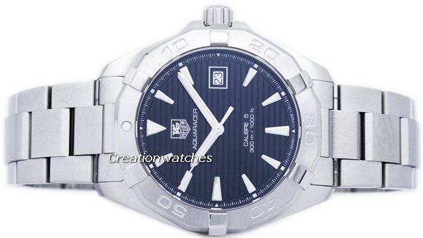 TAG Heuer Aquaracer Automatic 300M WAY2110.BA0928 Men's Watch - Click Image to Close