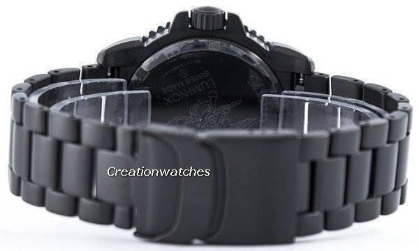 Luminox Navy Seal Steel Colormark 3150 Series Swiss Made 200M XS.3152.BO.NV Men's Watch - Click Image to Close