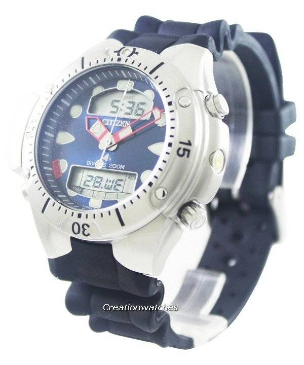 Citizen Aqualand Promaster Diver's 200M JP1060-01L Men's Watch - Click Image to Close
