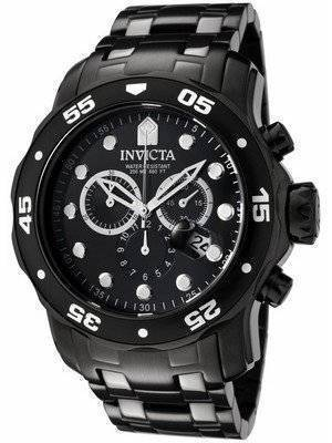 Invicta Pro Diver Chronograph 200M 0076 Men's Watch