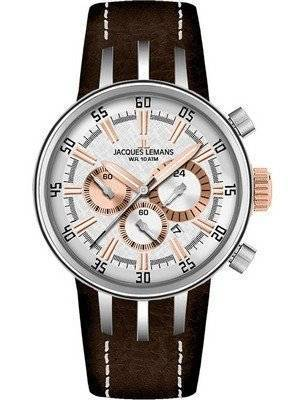Jacques Lemans Chronograph 1-1518E Mens Watch