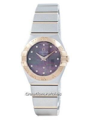 Omega Constellation Tahiti Quartz Diamond Accent 123.20.24.60.57.005 Women's Watch