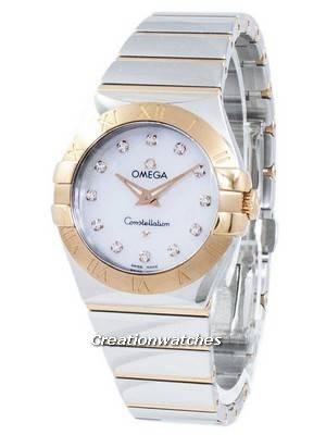 Omega Constellation Diamond Accents Quartz 123.20.27.60.55.003 Women's Watch