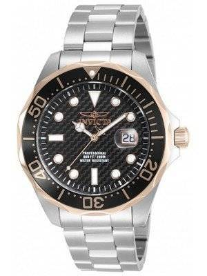 Invicta Pro Diver 200M Black Dial 12567 Men's Watch