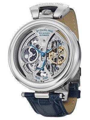 Stuhrling Original Emperor's Grandeur Automatic Dual Time 127A.3315C2 Men's Watch