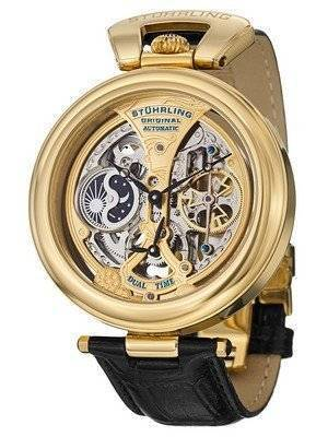 Stuhrling Original Emperor's Grandeur Automatic Dual Time 127A.333531 Men's Watch