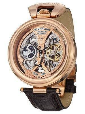 Stuhrling Original Emperor's Grandeur Automatic Dual Time 127A.334553 Men's Watch