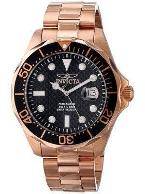 Invicta Pro Diver 200M Rose Gold Dial 14541 Men's Watch