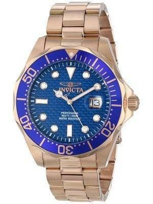 Invicta Pro Diver 200M Rose Gold Dial 14542 Men's Watch