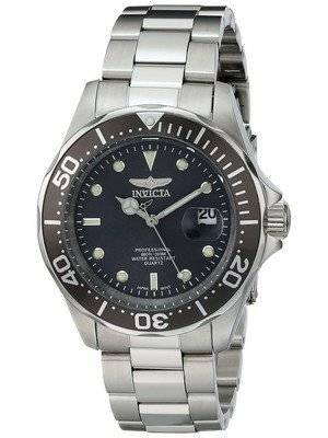 Invicta Pro Diver 200M Quartz Grey Dial 14969 Men's Watch
