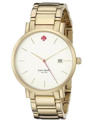Kate Spade New York Gramercy Gold Tone Stainless Steel 1YRU0009 Women's Watch