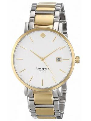 Kate Spade New York Gramercy Quartz Two Tone Bracelet 1YRU0108 Women's Watch