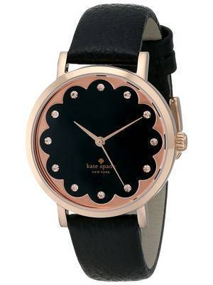 Kate Spade New York Scallop Metro Rose Gold Crystals 1YRU0583 Women's Watch