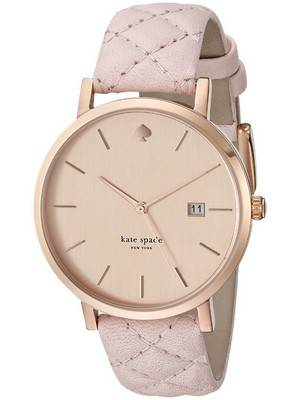 Kate Spade New York Metro Grand Quartz Leather Strap 1YRU0845 Women's Watch