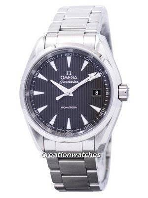 Omega Seamaster Aqua Terra Grey Dial 231.10.39.60.06.001 Men's Watch