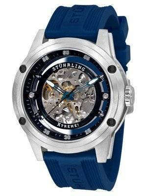 Stuhrling Original Zolara 360 Automatic Skeleton Black Dial 314R.3316C51 Men's Watch