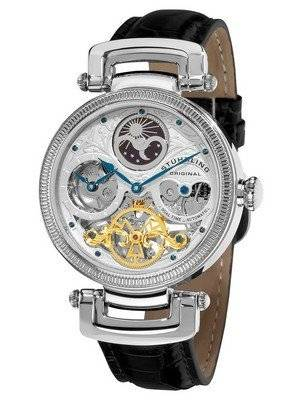 Stuhrling Original Magistrate Automatic Dual Time Skeleton Dial 353A.33152 Men's Watch